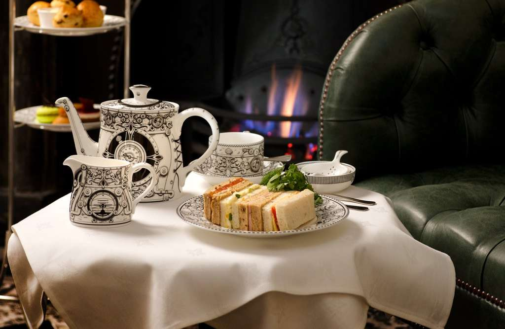 Afternoon Tea In The Rose Room Greyfriars Hotel Colchester